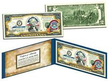 MICHIGAN Statehood $2 Two-Dollar Colorized U.S. Bill MI State *Legal Tender*