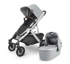 Uppababy Vista V2 Adjustable Baby Stroller Seat - Stella Grey