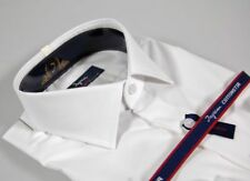Camicia Moda Uomo Ingram Slim Fit Bianca Cotone No Stiro Cottonstir Taglia 41 L