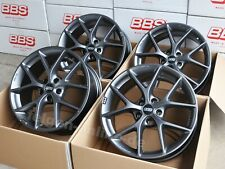 BBS SR grau 4 Felgen 8,5x19 Zoll SR027 Audi A4 + S4 Typ B8 + B9 + ABE