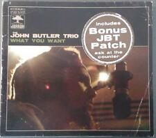 THE JOHN BUTLER TRIO -  WHAT YOU WANT - CD SINGLE