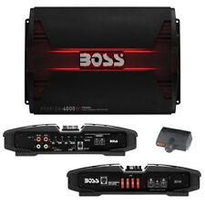 Boss PHANTOM 4000W Class D Monoblock Amplifier Remote Subwoofer Level Control