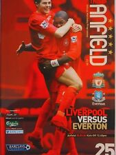 Liverpool v Everton Barclays Premiership 25/3/2006 MINT CONDITION