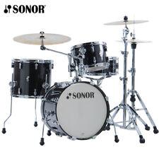 Sonor AQ2 Series BOP Drum Set Shell Pack Transparent Black 18x14_14x13_12x8_14x6