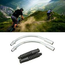 Pair Silver V Brake Noodles Cable Guide Mountain Road Front Bicycle Rear U9 C0M2