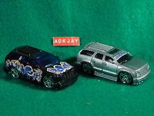 Hot Wheels ~ Cadillac Escalade ~ 1 Black and 1 Silver
