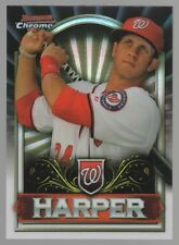 2011 BOWMAN CHROME BRYCE HARPER RETAIL EXCLUSIVE #BCE1S BRYCE HARPER SILVER