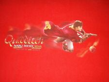 Harry Potter Seeker Quidditch Youngest in 100 Years Red T-shirt Boy's XL 18-20