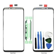For Samsung Galaxy S9 Front Outer Glass Screen Lens Replacement Adhesive + Tools