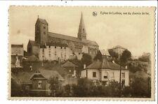 CPA-Carte Postale Belgique-Lobbes-Eglise vue du Chemin de Fer  -VM26846mo
