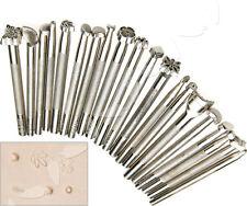 20x Leder Punzierstempel Punziereisen Lederstempel Stempel Punzieren Werkzeug