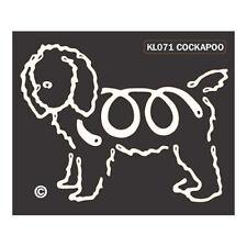Cockapoo K-Lines Dog Car Window Tattoo Decal Sticker