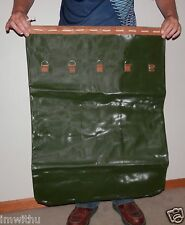 NEW Jumbo Duffel Bag Waterproof Genuine Military Issue Leather Canvas Rubberized
