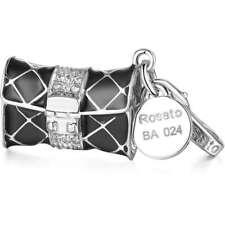Charms Borsa Per Componibile Rosato linea My Bags In Argento Cod. RBA024