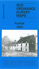 OLD ORDNANCE SURVEY MAP PARTICK 1894
