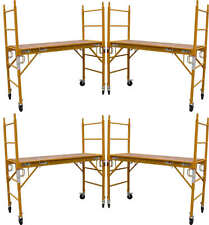 """5 Mfs Scaffold Rolling Towers 29""""W X 6'H Deck aka Perry Baker baby Tower Cbm1290"""