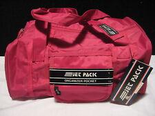 Vintage 90's JET PACK Nylon Durable Sports Overnight Camp Gym Bag w/Wet Pocket