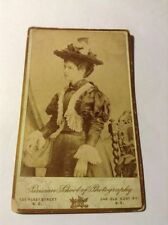 Fashion 1870s Collectable Antique CDVs (Pre-1940)