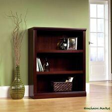 Bookcase 3 Shelf Small Size Bookshelf 2 Adjustable Shelf Antique Furniture Home