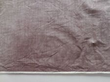 """Cotton Oxford Shirt Fabric Vintage 1950s Light Brown Ivory 2.75 yd X 36"""" W NOS"""