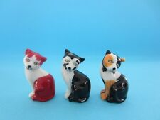 WADE RED, BLACK AND CALICO CAT FIGURINE FROM WADE FEST, 2012 *DISCONTINUED*