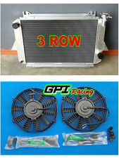 Aluminum Radiator & FAN for Nissan Patrol 4.0L MQ Petrol 1980-1987 MT