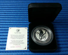 1996 Australia $2 Kookaburra 2 oz 999 Silver Proof Coin Privy Mark Florin 1954