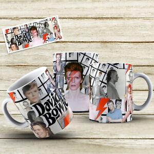 DAVID BOWIE COFFEE/TEA 11oz AND COLOUR CHANING MAGIC MUG/CUP - GIFT BIRTHDAY