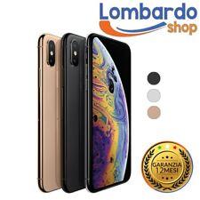 IPHONE XS RICONDIZIONATO 64GB GRADO B BIANCO NERO ORO APPLE RIGENERATO ORIGINALE