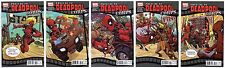 PRELUDE TO DEADPOOL CORPS (2010) #1-5 FULL CONNECTING COVERS SET MARVEL 2 3 4 5