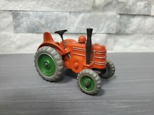 VTG Dinky Toys #301 Field Marshall Tractor w/rare green wheels variant EXC COND