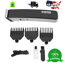 Rechargeable Cordless Hair cut Clipper trimmer Men Haircut & Beard Grooming Kit