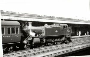 Rail Photo GWR 262t 5190 Oxford station Oxfordshire