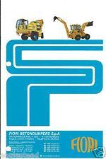 Equipment Brochure - Fiori - Loader Backhoe Cement Truck Skip (E3103) - S
