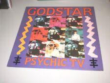 """PSYCHIC TV - GODSTAR - 1985 - TEMPLE RECORDS - MADE IN UK - 12"""" - SINGLE -"""
