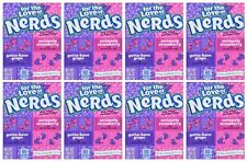 Wonka Nerds Grape & Strawberry 46.7g (1.65 oz)Candy American  Import (Pack of 8