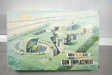 Airfix Gun Emplacement #Plastic Model Construction Set H0 - 00 (F2)