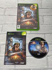 Sphynx und die verfluchte Mumie Original Xbox Videospiel schneller Versand Fun alt