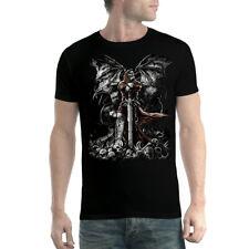 Crâne Epée Tombe Faucheuse Mort Homme T-shirt XS-5XL Nouveauté