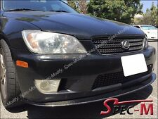 2001-2005 Lexus IS200 IS300 Carbon Fiber Front Bumper Bottom Universal Lip