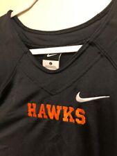 Nike Hawks Jersey Short Sleeve Shirt Black Mens Tall SZ L *NEW*
