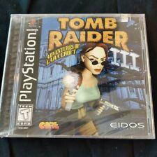 New listing Tomb Raider Iii: Adventures of Lara Croft (Sony PlayStation 1, 1998)New Sealed