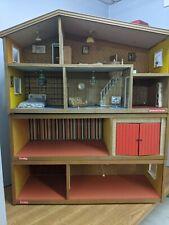 Vintage Lundby 4 Storey Dollhouse / Garage  Basement / Accessories / Furniture
