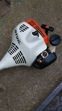 STIHL fs45 PETROL STRIMMER STARTS AND RUNS WELL,COMES WITH SERVICE KIT