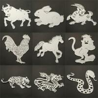 Animals Metal Scrapbook Paper Card Cutting Dies Stencil Crafts Embossing Nice
