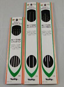 Tulip Doll Needles Bear Needles Art. DEN-031 DEN-032 DEN-033 Crafts Very Sharp