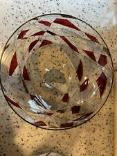 Partylite Mosaic large Candle Bowl. Retired