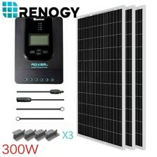Renogy 300 Watts Solar Panel Kit 40A Controller For 12V Off Grid Battery Charge