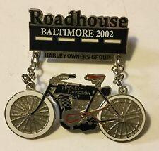HARLEY DAVIDSON HOG ROADHOUSE BALTIMORE 2002 Pin