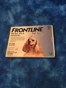 Frontline Top Spot23-44lbs| 6 doses Nip from the makers of Frontline plus